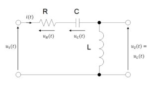dynamic model of RLC circuit