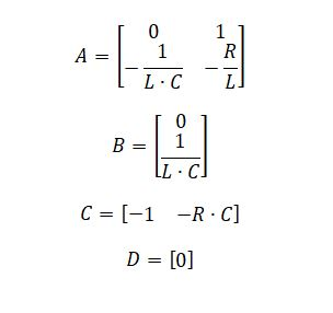 state space representation - RLC circuit equation 11.