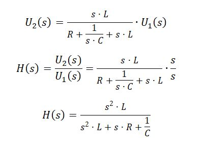 state space representation - RLC circuit equation 3