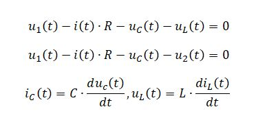 state space representation - RLC circuit equation 5