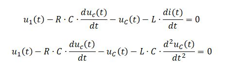 state space representation - RLC circuit equation 7
