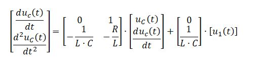 state space representation - RLC circuit equation 9