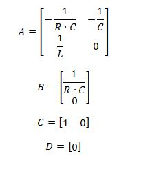 state space representation - RLC circuit equation 12