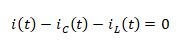 state space representation - RLC circuit equation 6