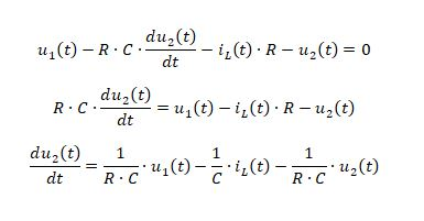 state space representation - RLC circuit equation 8