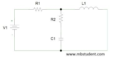 Electrical DC circuit - branch current method example 7.