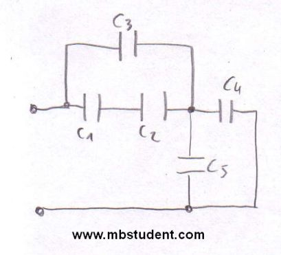 Total capacitance - example 2