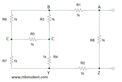 Total resistance R - example 2.