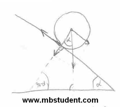Mechanics dynamics - example 2.