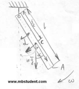 Mechanics dynamics - example 8.