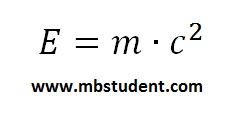 Relation between mass and energy - E=mc^2